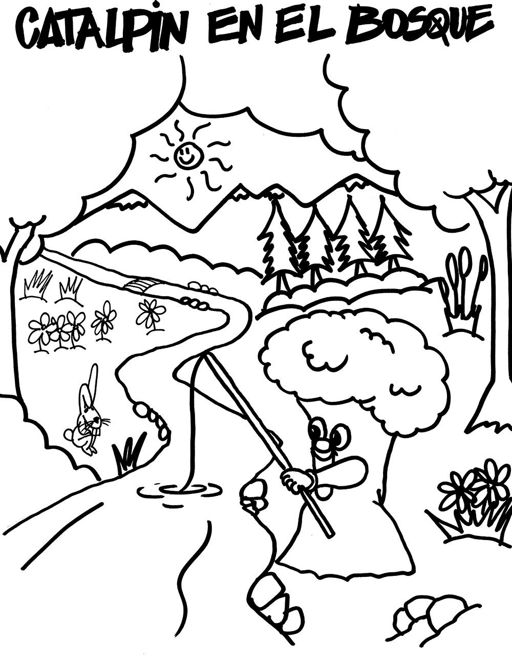 Catalpin en el Bosque